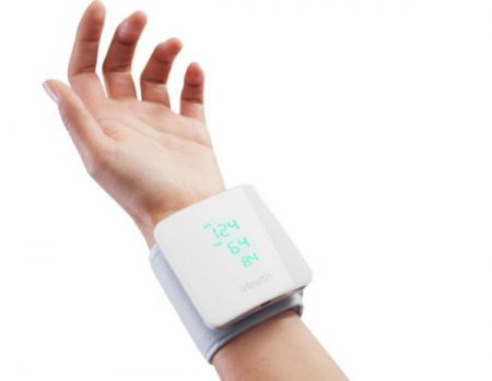 iHealth View wrist blood pressure monitoring device