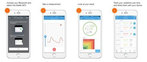 ihealth blood pressure monitoring log app