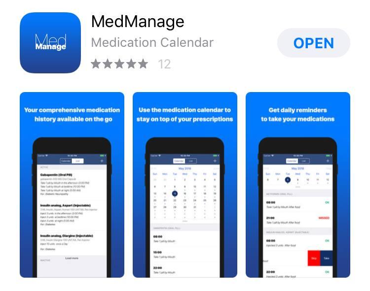 iTunes MedManage